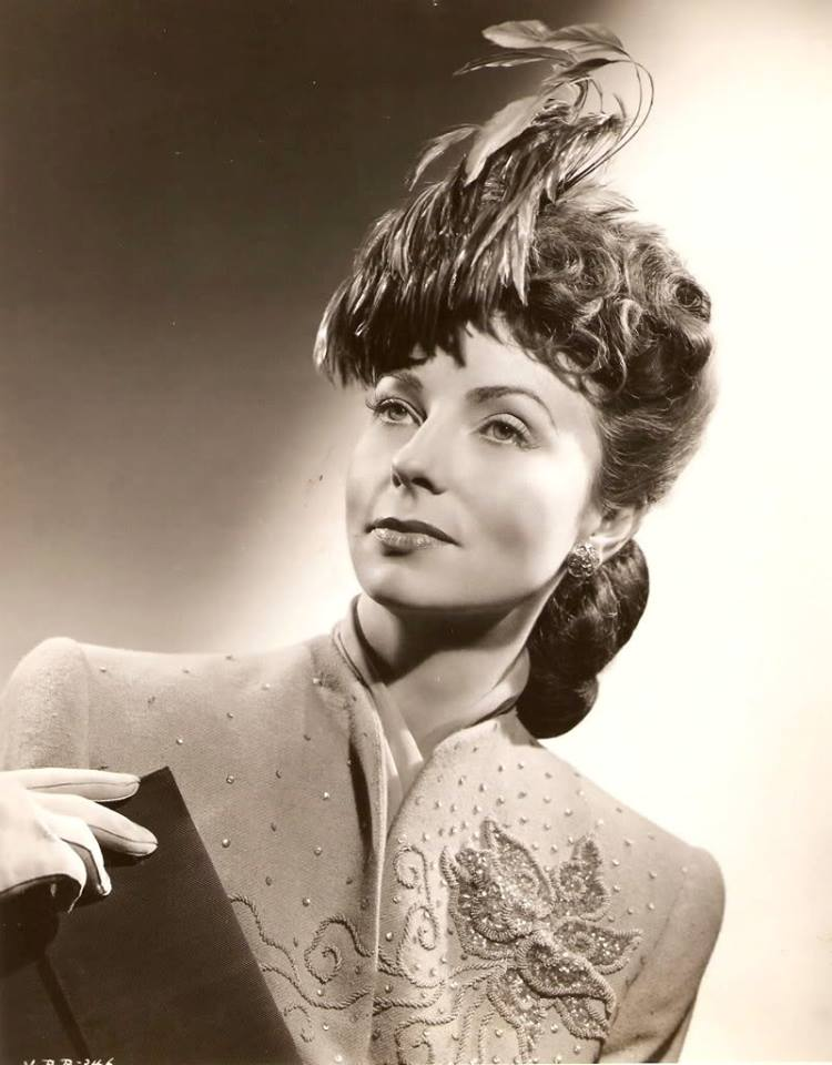 portrait of Agnes Moorehead for 'Since You Went Away'