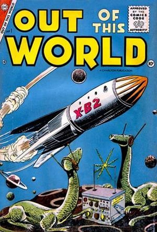 Out Of This World Comic Book