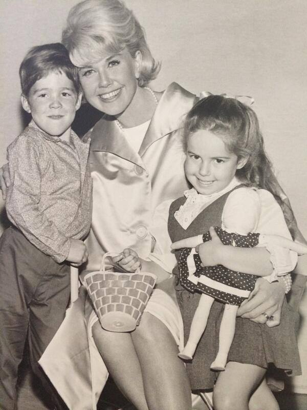 Brian Nash, Doris Day & Kym Karath