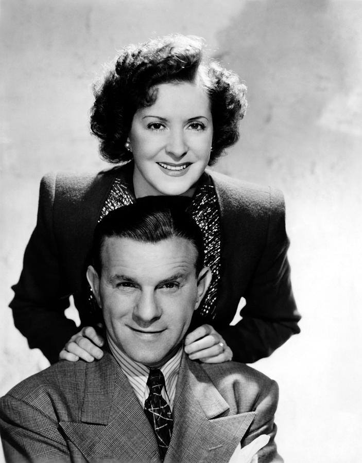 Burns and Gracie Allen