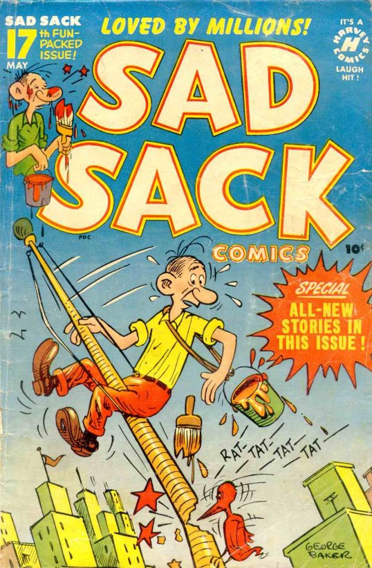 Sad Sack Comic Book