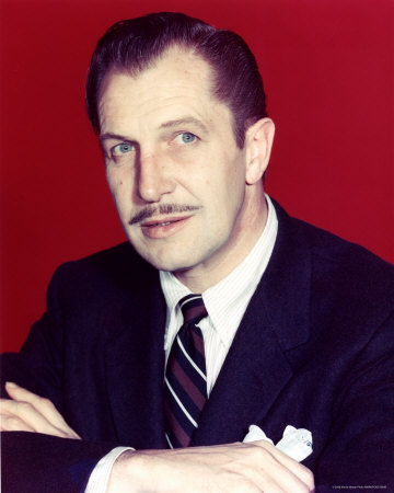Vincent Price Host for Mystery Night Wednesdays