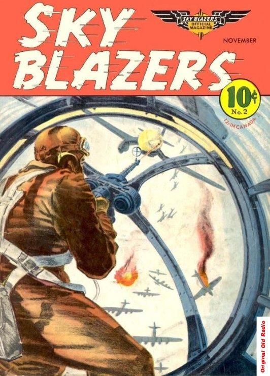 Sky Blazers Comic Book