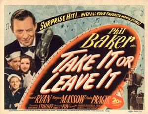 Take Or Leave It Comic Book