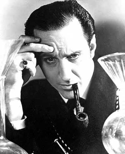 Basil Rathbone as himself