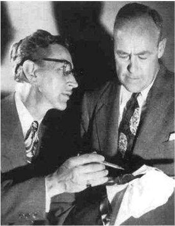 Bennett Kilpack(right) as Uncle Josh