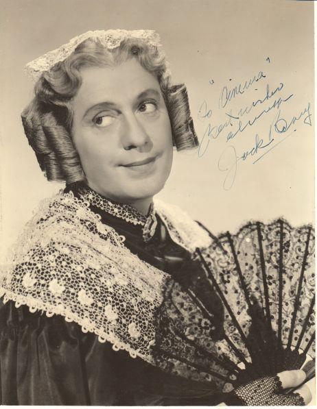 Charlie's aunt - Jack Benny