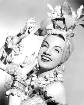 Guest Carmen Miranda