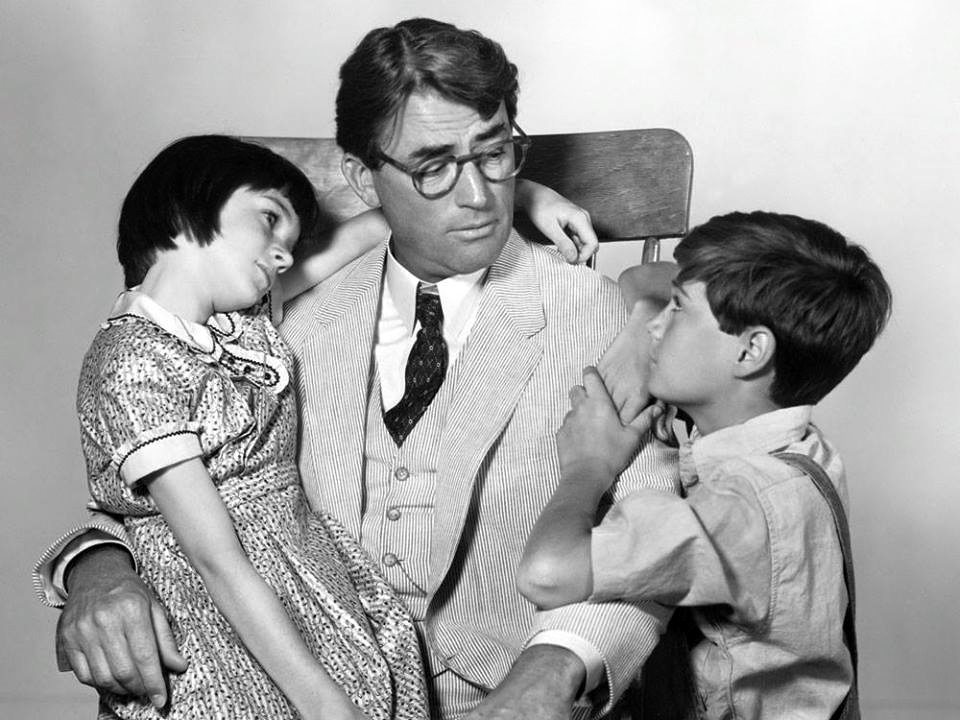 Mary Badham,Gregory Peck and Phillip Alford for ''To Kill a Mockingbird''