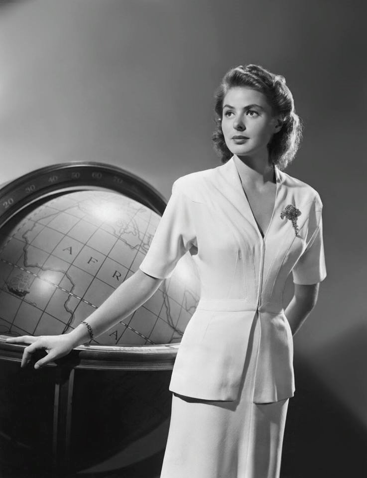 Ingrid Bergman for ''Casablanca''