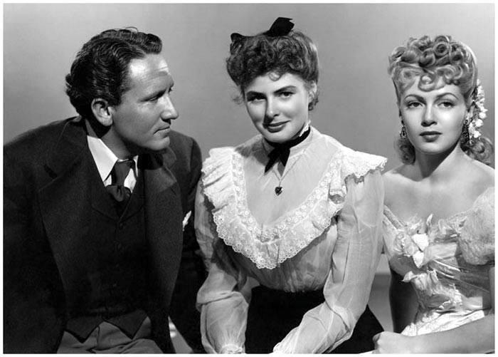 Spencer Tracy,Ingrid Bergman,Lana Turner for ''Dr.Jekyll and Mr.Hyde''(1941).