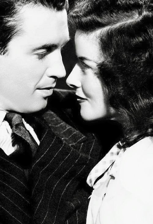 James Stewart & Katharine Hepburn in ''The Philadelphia Story''
