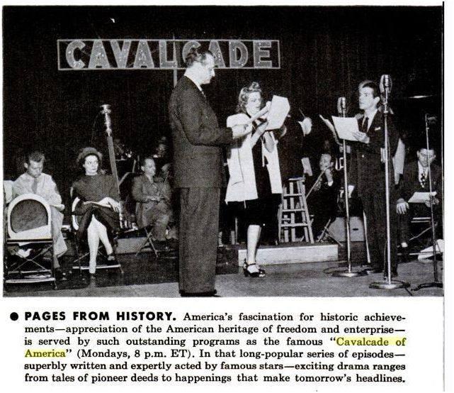 The Cavalcade Of America