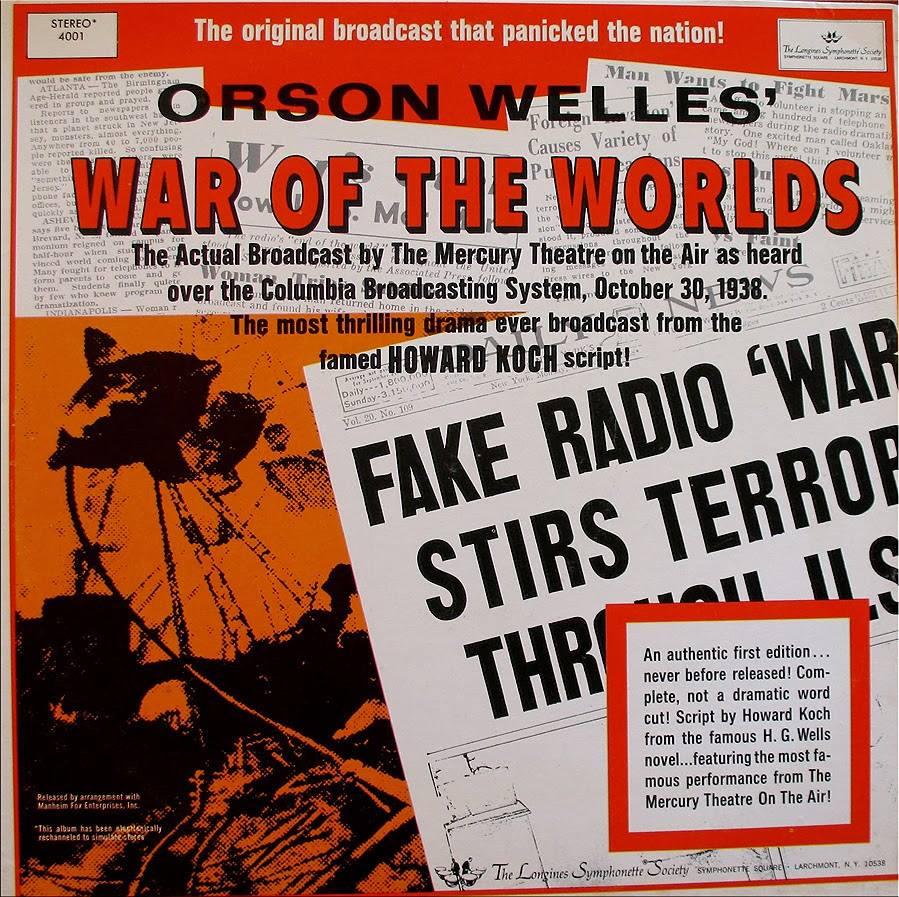 Mercury Theater 17 War Of The Worlds
