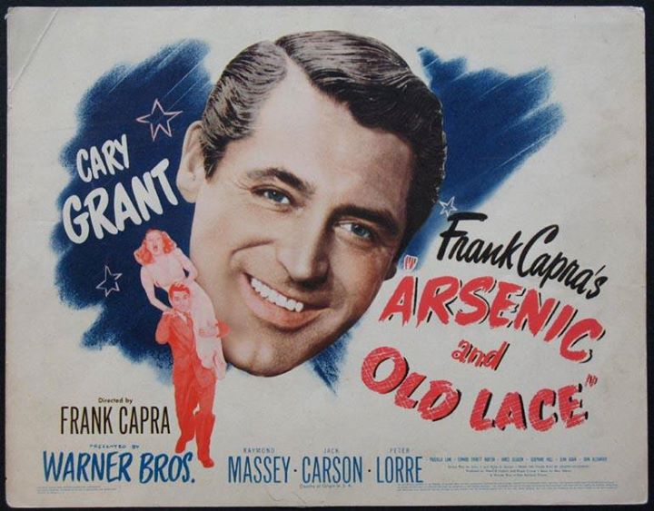 Frank Capra's screwball classic ARSENIC AND OLD LACE