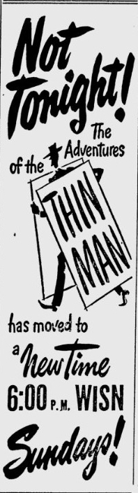 The Thin Man ad