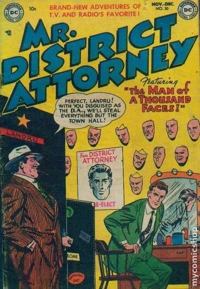 Mr. District Attorney Comics