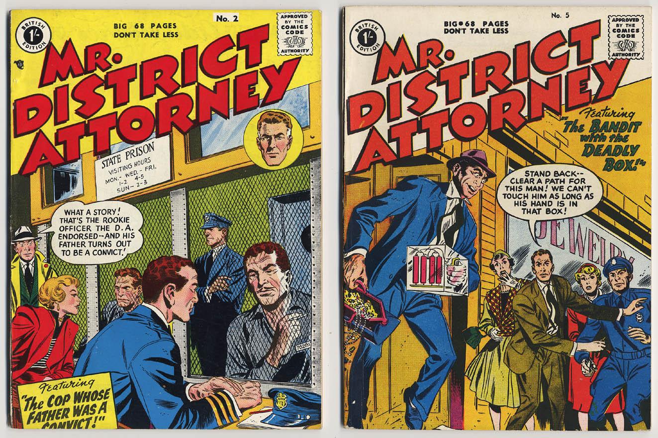 Mr District Attorney comics