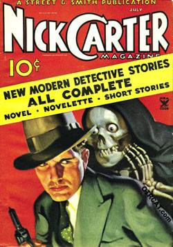 Nick Carter, Master Detective was a Mutual radio crime drama based on tales of the fictional private detective Nick Carter from Street & Smith's dime novels and pulp magazines. Nick Carter first came to radio as The Return of Nick Carter, a reference to the character's pulp origins, but the title was soon changed to Nick Carter, Master Detective. A veteran radio dramatist, Ferrin Fraser, wrote many of the scripts.   With Lon Clark in the title role, the series commenced 11 April 1943, on Mutual...