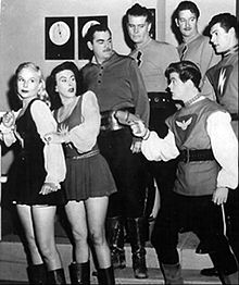 Space Patrol cast 1950