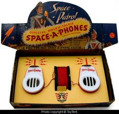 Space Patrol Space Phones