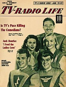 Cover of TV-Radio Life magazine 1953-01-19
