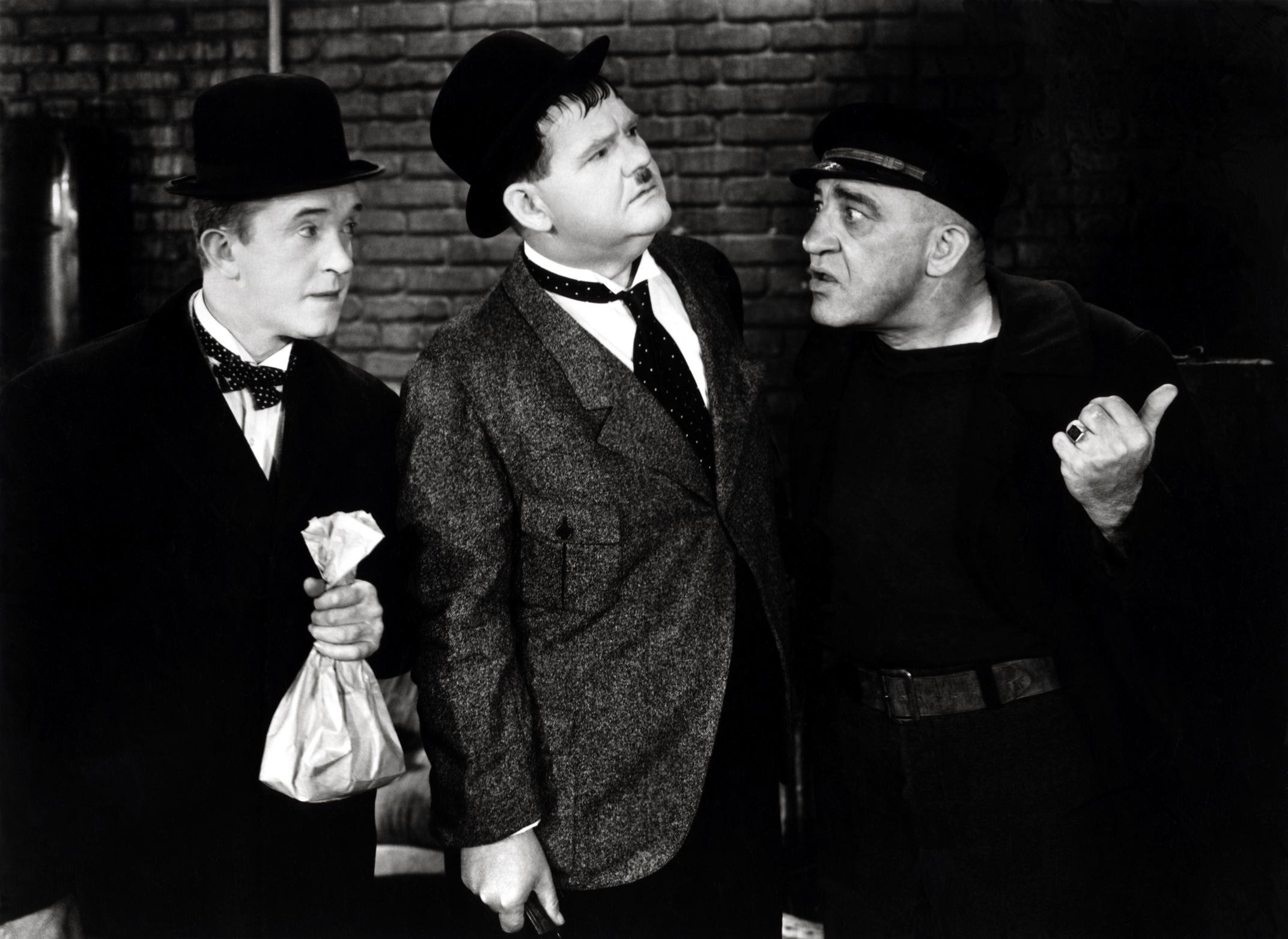 Laurel & Hardy With Walter Long (R)