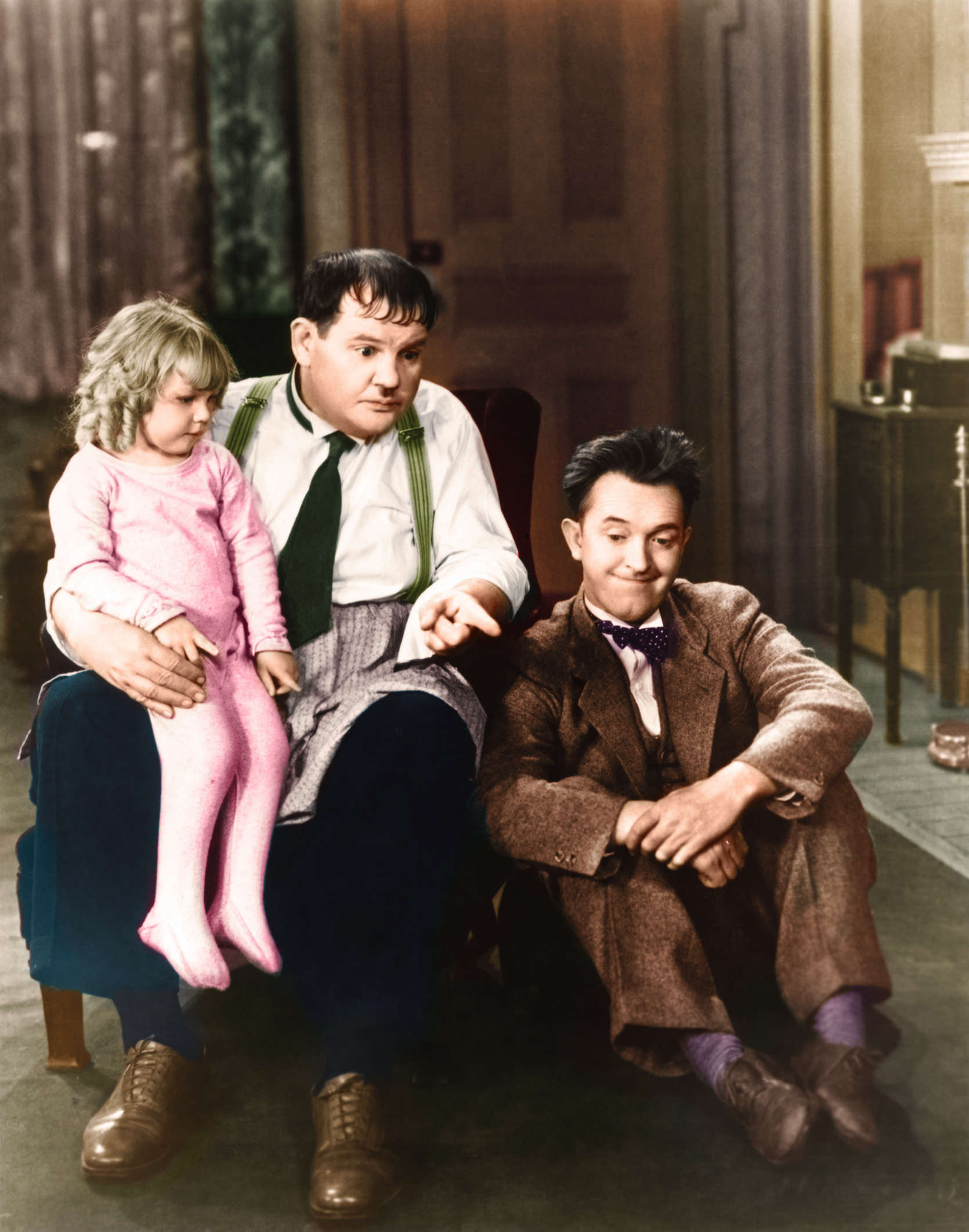 Laurel & Hardy With Jackie Lyn Dufton.