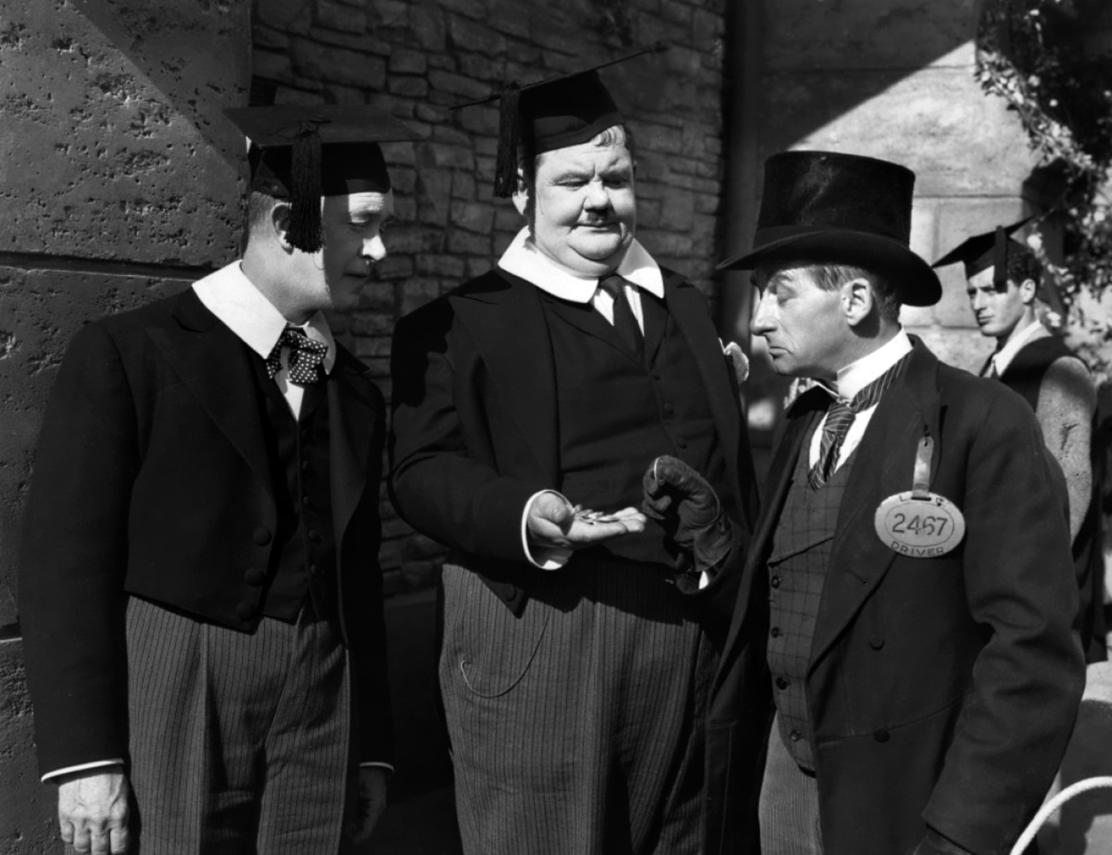 Laurel & Hardy With James Millican (R)