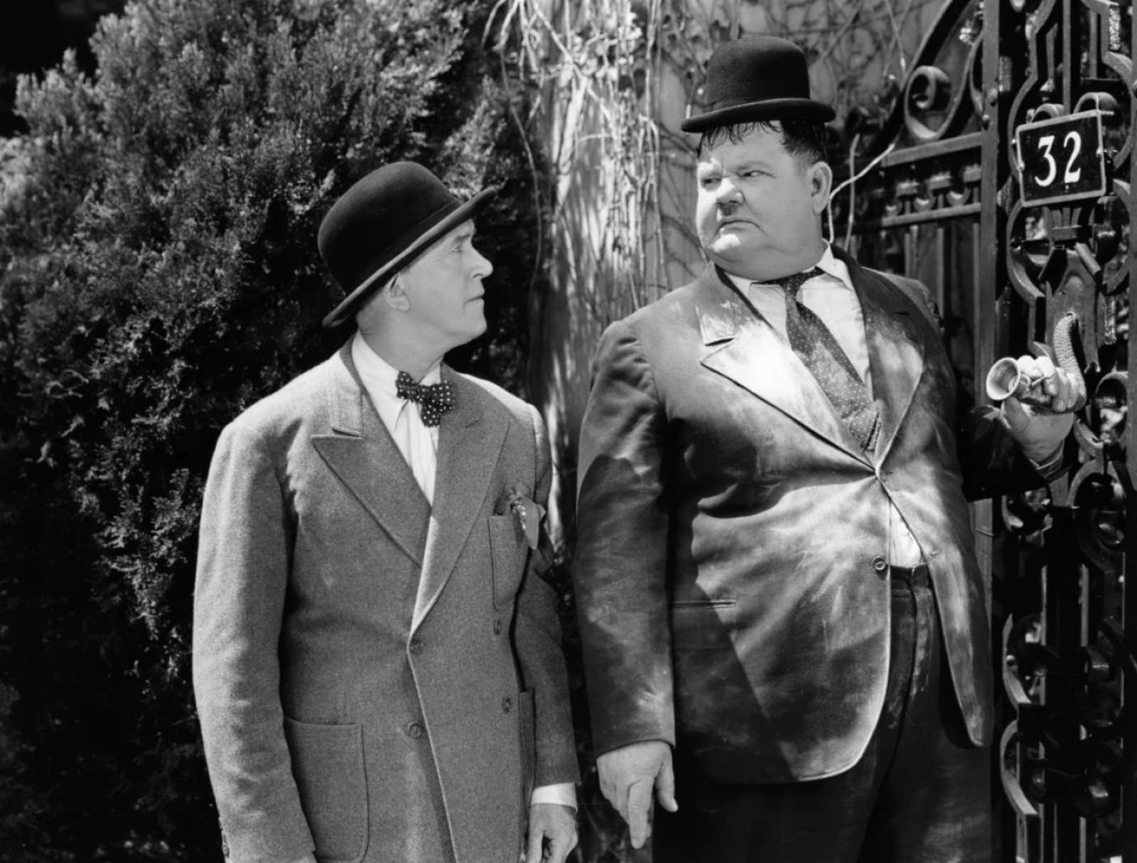 laurel and hardy Laurel was born in ulverston - then in lancashire, now in cumbria - before emigrating to the us and finding fame in hollywood as foil to hardy's pompous blusterer.