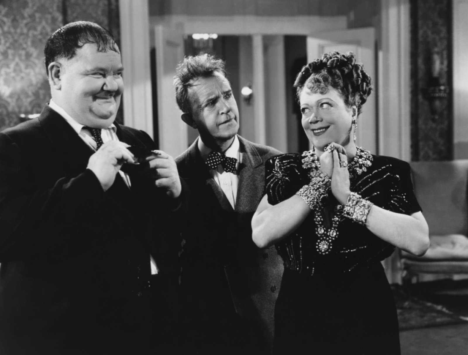Laurel & Hardy With Esther Howard
