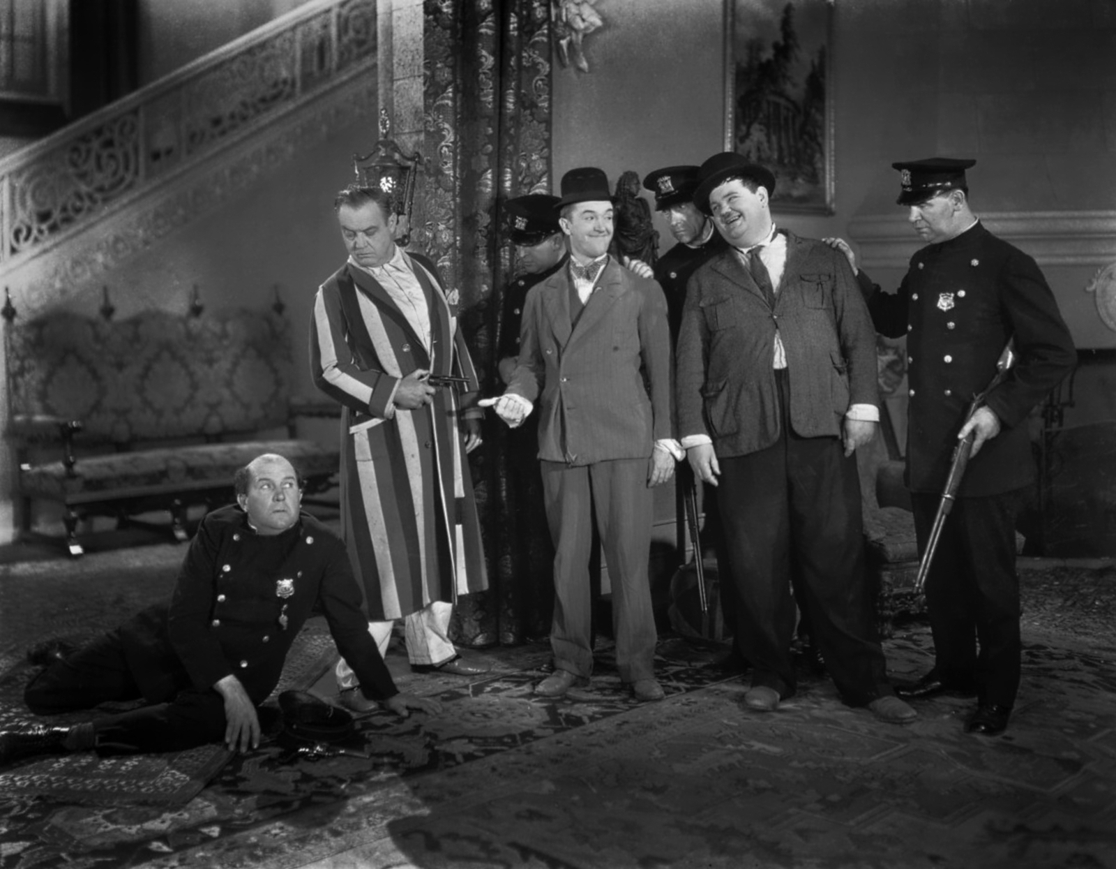 Laurel & Hardy With Edgar Kennedy