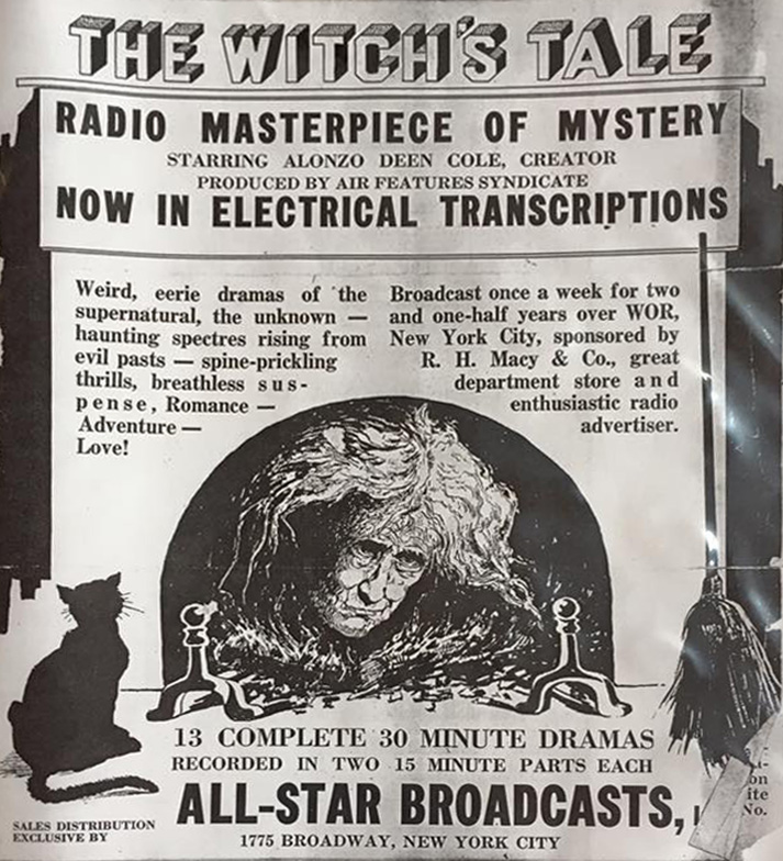 Witchs Tale Advertisement