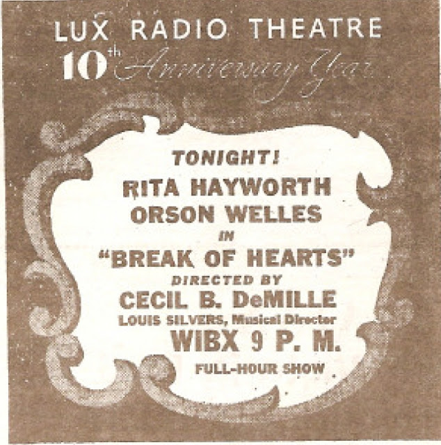 LUX episode advertisement