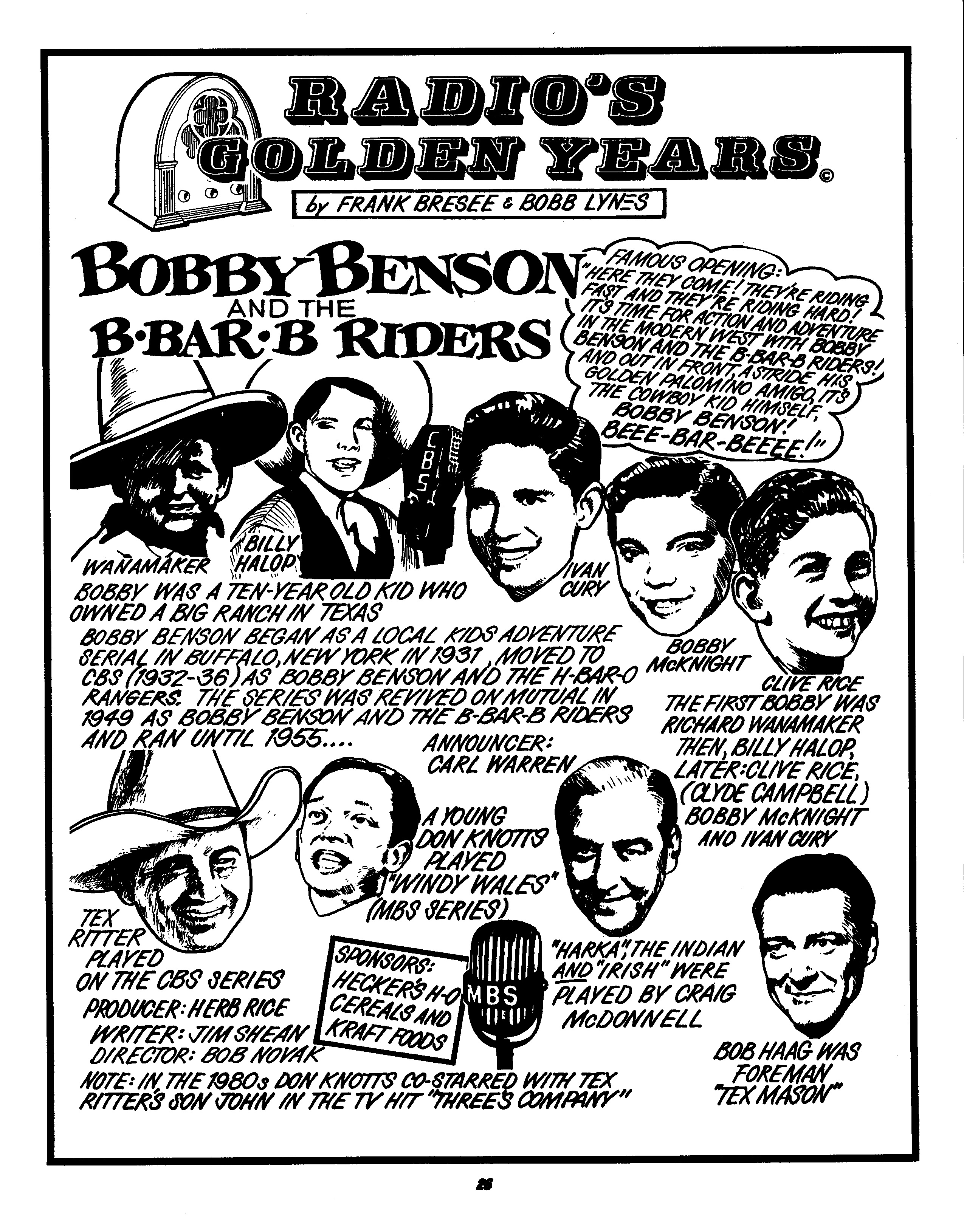 Bobby Benson