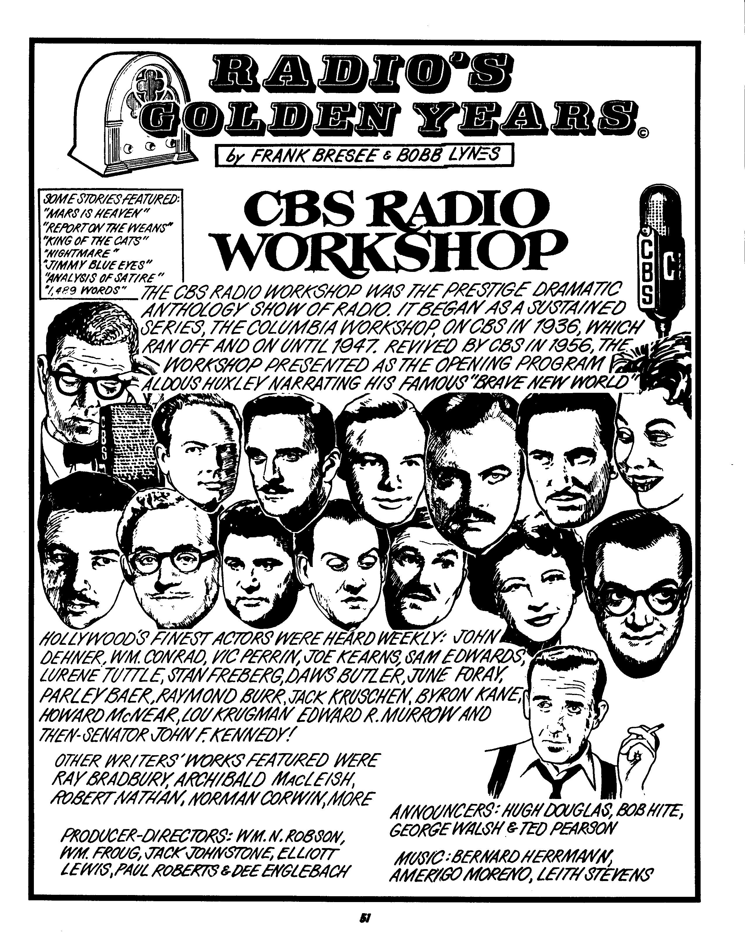 CBS Workshop