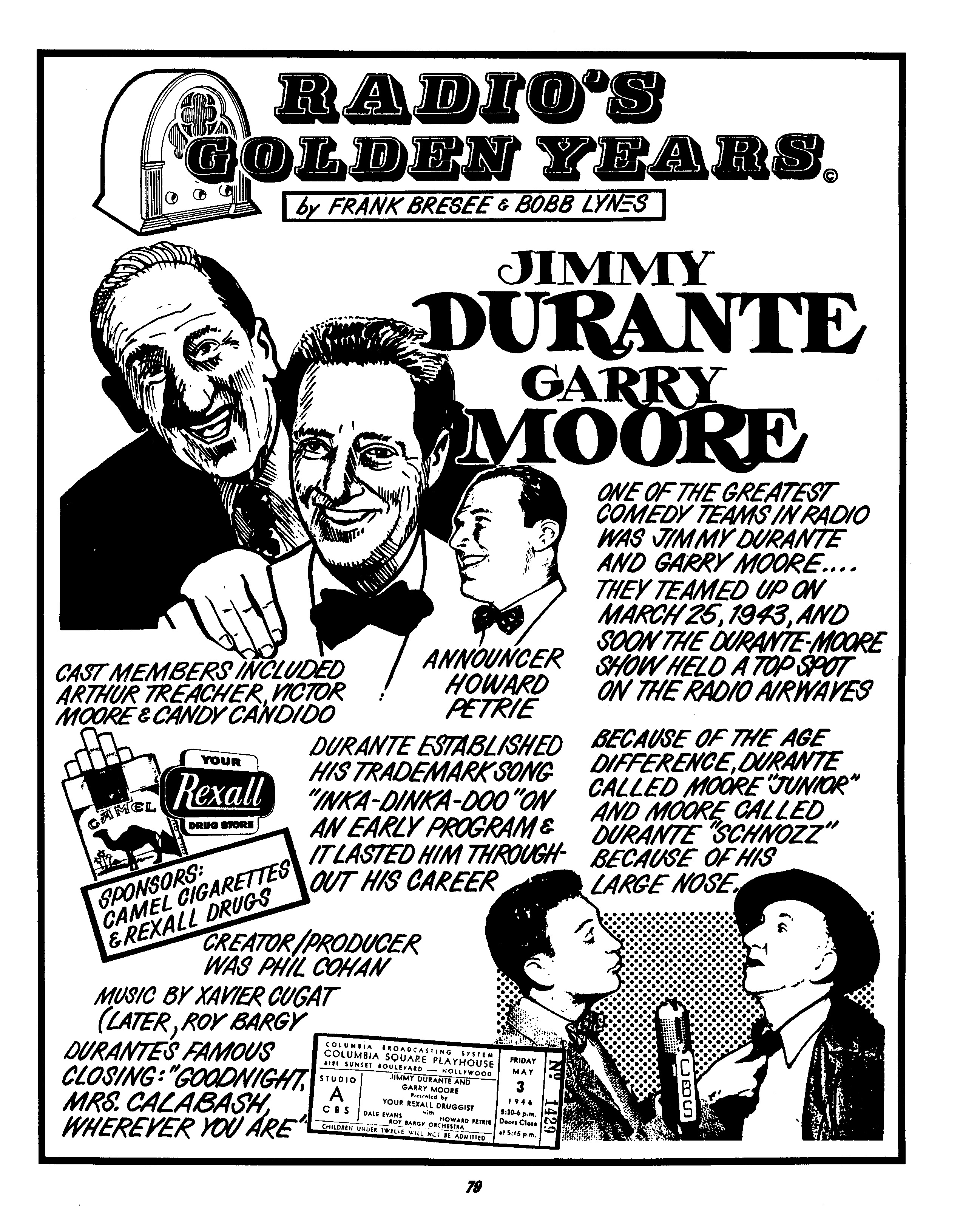 Jimmy Durante And Garry Moore