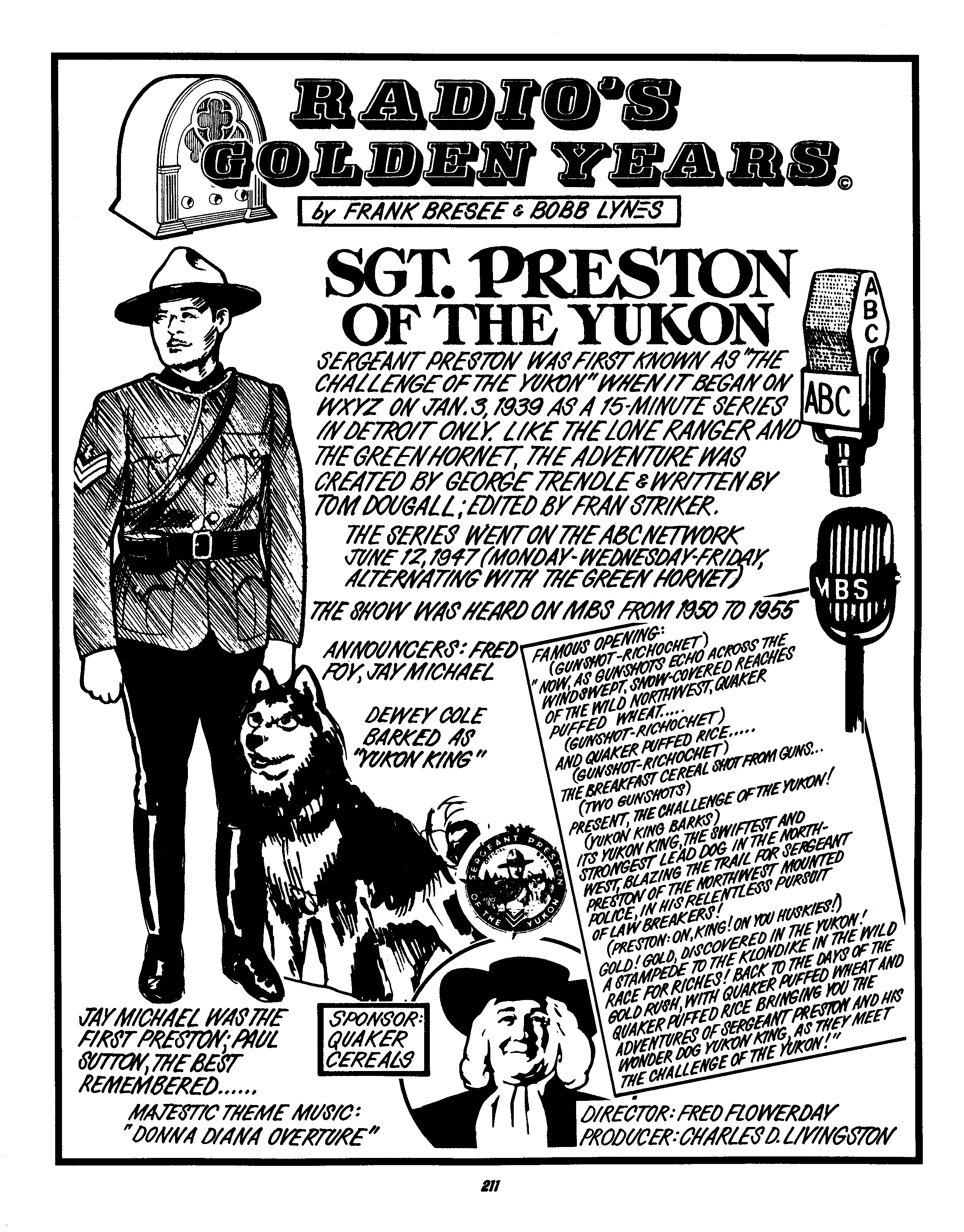 Sgt Preston Of The Yukon