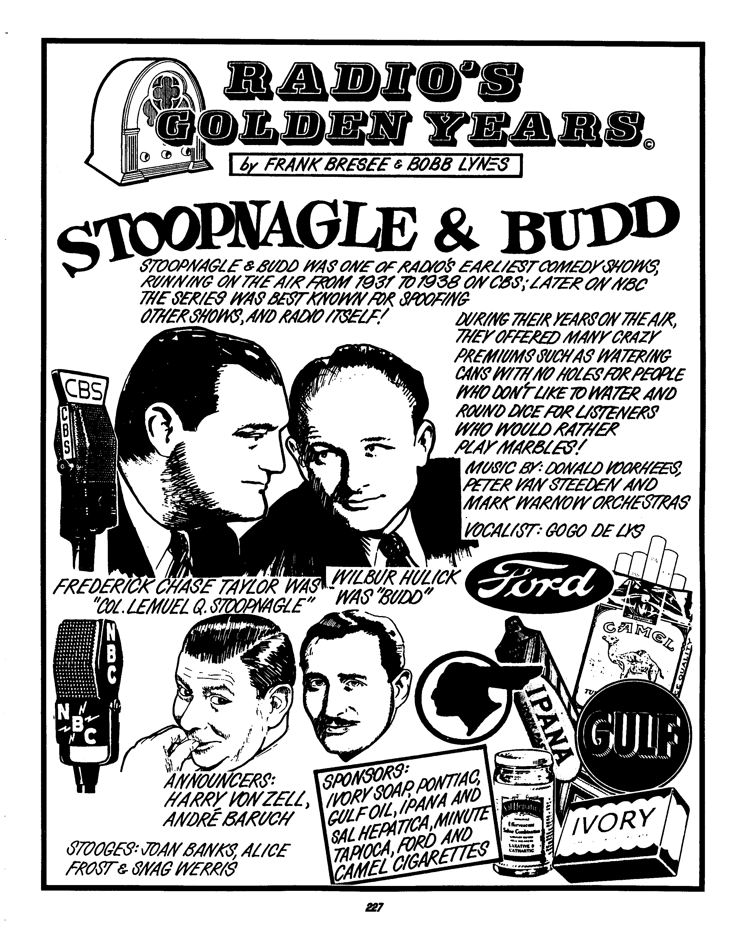 Stoopnagel And Bud