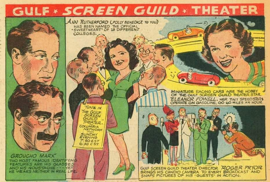 gulf screen guild theater comic