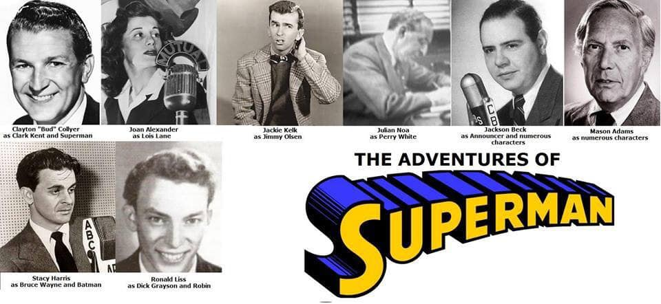 The Adventures of Superman was a long-running radio serial that originally aired from 1940 to 1951, adapted from the DC Comics character.  The serial came to radio as a syndicated show on New York City's WOR on February 12, 1940. On Mutual, it was broadcast from August 31, 1942, to February 4, 1949, as a 15-minute serial, running three or, usually, five times a week. From February 7 to June 24, 1949 it ran as a thrice-weekly half-hour show. The series shifted to ABC Saturday evenings on October 29, 1949, and then returned to afternoons, twice-a-week on June 5, 1950, continuing on ABC until March 1, 1951. In all, 2068 original episodes of The Adventures of Superman were aired on American radio.  Created by Jerry Siegel and Joe Shuster, the Man of Steel first appeared in Action Comics #1 in 1938. The following year, the newspaper comic strip began and four audition radio programs were prepared to sell Superman as a radio series. When Superman was first heard on radio less than two years after the comic book appearance, the character took on an added dimension with Bud Collyer in the title role. During World War II and the post-war years, the juvenile adventure radio serial, sponsored by Kellogg's Pep, was a huge success, with many listeners following the quest for