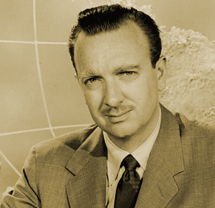 Walter Cronkite circa 1951