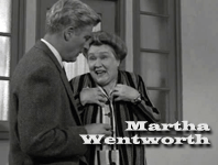 Martha Wentworth as Motel Manager in The Case of The Runaway Corpse from Perry Mason (1957)
