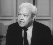 Berry Kroeger as Donald Evanson in The Case of The Flighty Father from Perry Mason (1960)