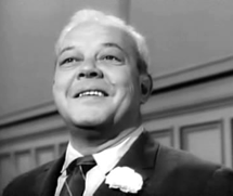Berry Kroeger as Edgar Whitehead in The Case of The Blindman's Bluff from Perry Mason (1961)
