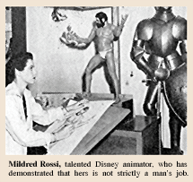 Mildred Rossi was a Walt Disney animator--and the tragic object of Frank Graham's unrequited affection