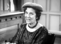 Elvia Allman as Mrs. Forbes in Perry Mason (1961)