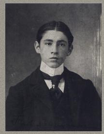 15 Year old John Sydney Blythe circa 1897