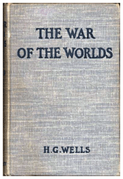 H.G. Wells' original book, The War of The Worlds, published in1898