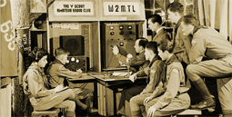 By 1913 the 'Y' and its Boy Scout Troop 635 had formed their own amateur radio club with call sign W2MTL